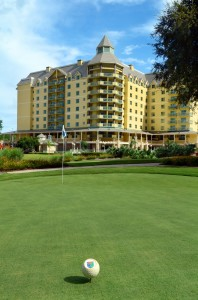 Renaissance World Golf Village Resort --- Slammer & Squire Course In Foreground